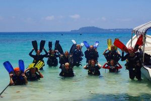 diving EasterEvent