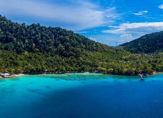 island PulauWeh sea