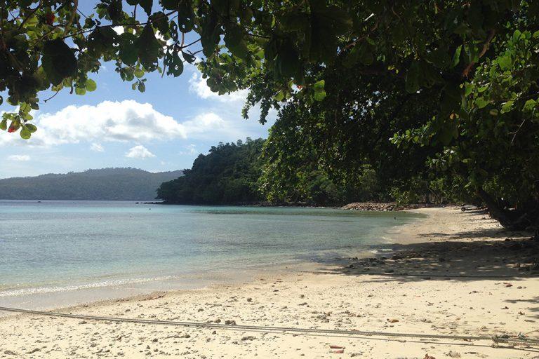 living gapang beach